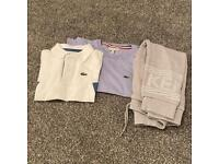 Kids age 6 Kenso & Lacoste clothes