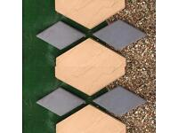 Paving slabs (hexagon)