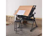 Hardly used Drawing Table/ Art Table for sale (moving home!) £70