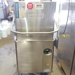 Hobart AM-15 High-Temp Commercial Dishwasher