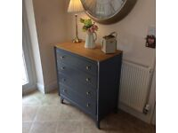 Stunning Vintage Lebus Chest of Drawers