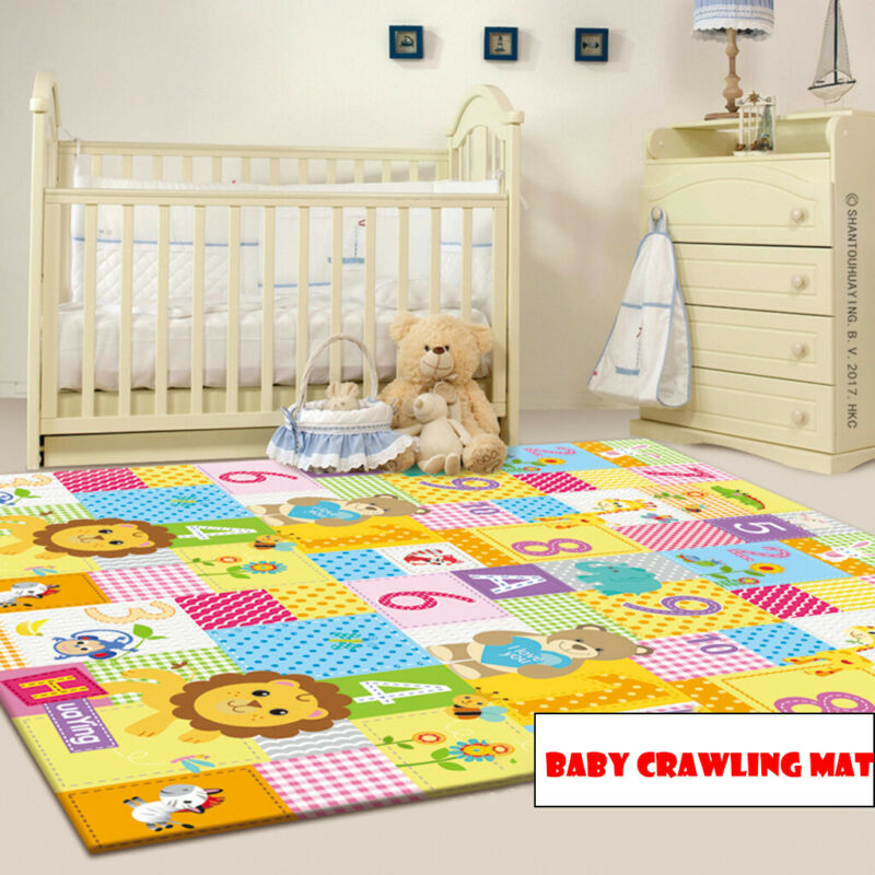 Baby Play Mat - Large Double Sides Non-Slip Waterproof Porta