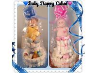 Baby Nappy Cake, great gift for anyone expecting or had a baby. All different sizes & prices.