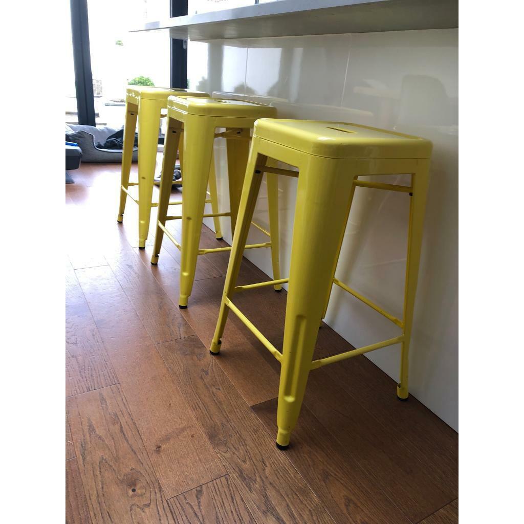 Tolix metal kitchen bar stools   in Norwich, Norfolk   Gumtree