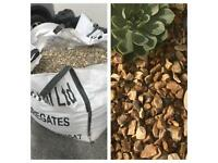 Mulch - landscaping stones - big bag - garden decorations