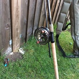 Barbel and Tench fishing rods ,reels and other equipment