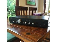 Arcam A75 integrated amp. remote, instructions, power lead and box -VGC