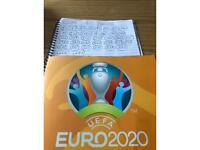 UEFA EURO 2020 sticker swaps