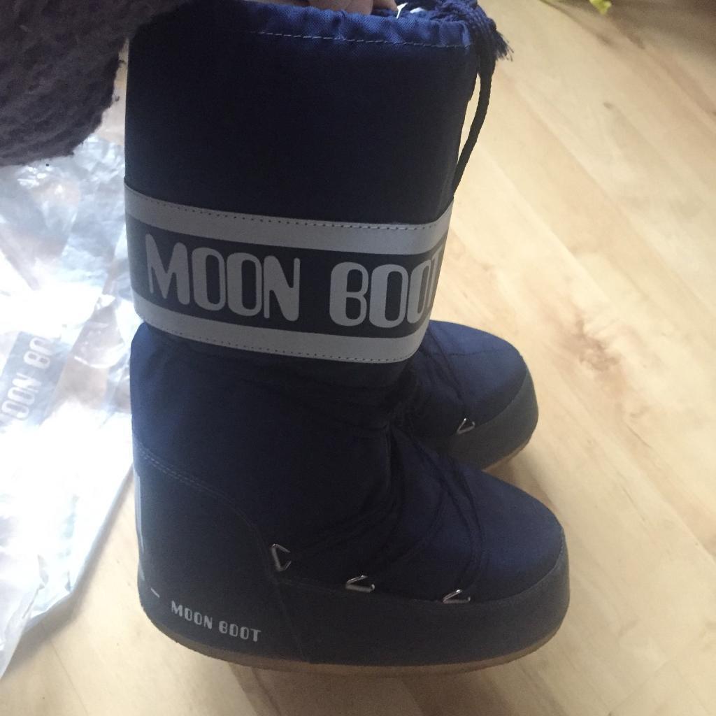 Kids's Moon Boot Space Blue Size EU 39/41, US 7/8, 5, UK 6/7, 5. Original Pack