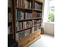 Solid Oak Bookshelves Laura Ashley Excellent condition 2 available -