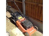 Mountfield petrol lawn mower - battery easy start