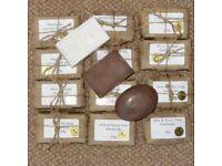 Hand made luxury soap variety box