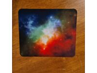 RGB Galaxy Mouse Mat, Custom Stocking Filler