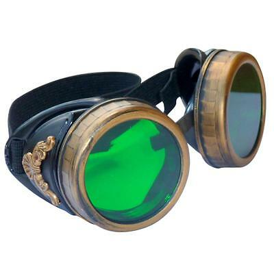 SteAMPunk GogGLes VicTORian Novelty Glasses cosplay Antique filigree S4 - Novelty Goggles