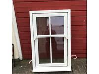 Timber dual turn window