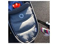 Bugaboo bee 3 carrycot with adaptors will post