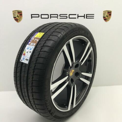 Porsche Cayenne 21 Inch Turbo Ii Antraciet Met Nieuwe Banden