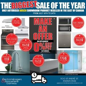 Biggest sale of the year *MAKE AN OFFER*! + 0% GST/PST on plumbing products!