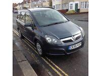 2006/56 Vauxhall zafira 1.6 life with full history