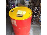 Oil drum 205 ltr Bbq Burner Diesel fuel