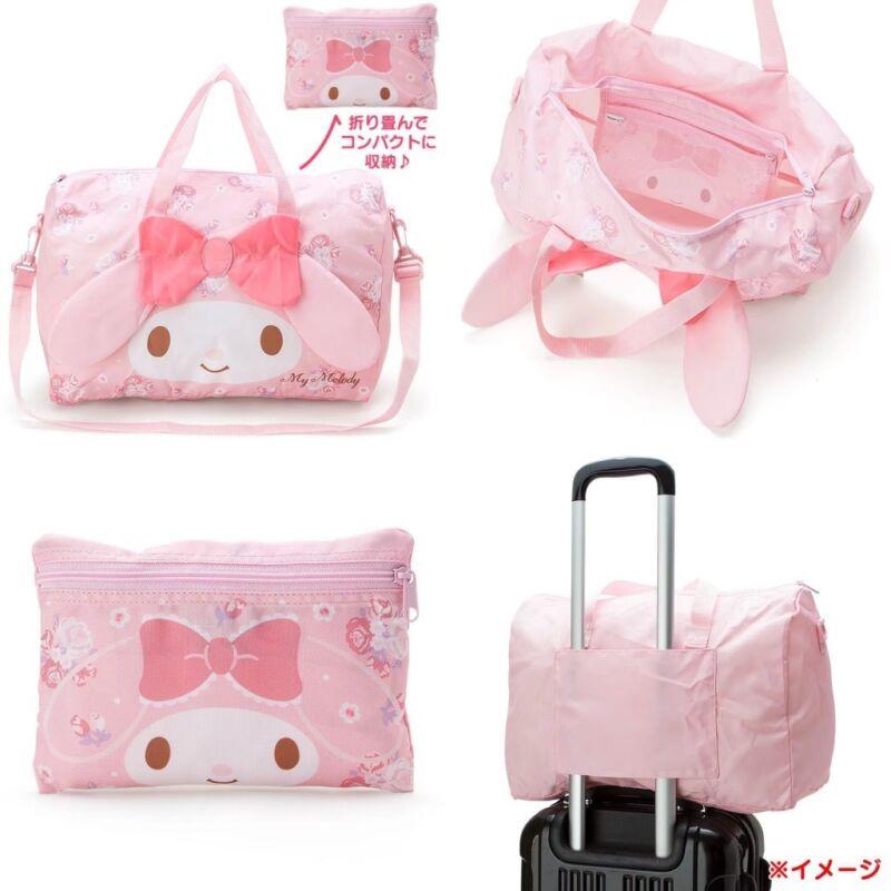My Melody Pink Cartoon Women Handbag Large Travel Carry Bag Cross Body