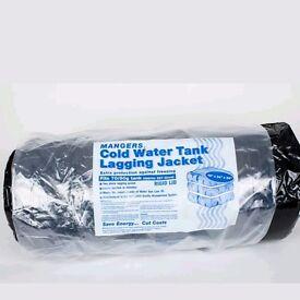 Cold water tank lagging jacket 50 gallon rectangular.