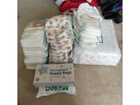 Bunch of nappies never used brand new