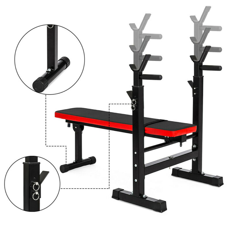 Weight Bench Duty Gym Barbell