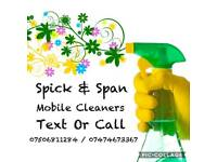Mobile Domestic cleaner