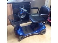 STIRLING PEARL CAR BOOT SIZED MOBILITY SCOOTER WITH NEW BATTERIES, CARRIES 21 STONE 15 MILES