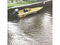 Concord speed boat 18ft