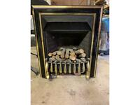 Gas/fire heater
