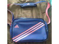 Adidas Shoulder Bag (Blue & Pink)