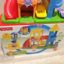 FisherPrice Little People Playground with Box