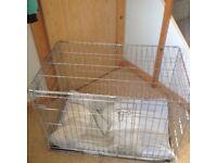 Pets at home dog cage £40