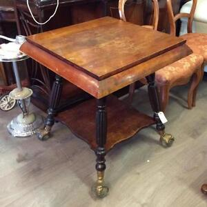 1880's Rare Size Parlour Table with Ball Claw Feet