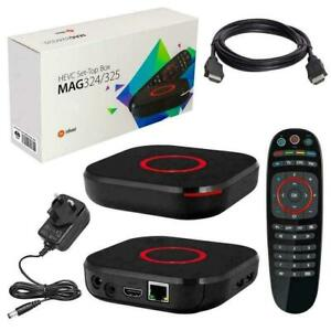 BRAND NEW MAG256W1/MAG322W1/MAG324W2 IPTV SET TOP BOX $135 TO $160 2019 289-489-1199
