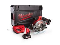 MILWAUKEE M12CCS44-602X 12V FUEL CIRCULAR SAW + 2X 6.0AH BATTS