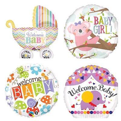 Baby Boy Ballon (XL Folienballon Boy / Girl  Luftballons Folienballons Welcome willkommen Baby  )