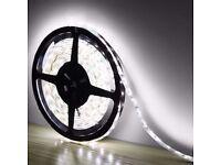 5M 3528 LED Strip Strip Light Flexible Non-Waterproof White Cold