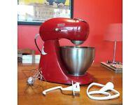 Retro red kenwood patissier food mixer