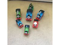 Thomas push along trains