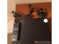 LG DVD player with remote.
