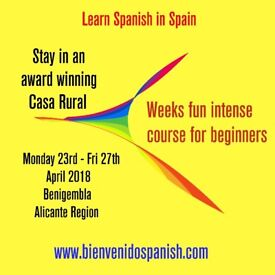 Learn Spanish in Spain staying in award winning Casa Rural