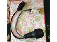 Tow lead converter plug