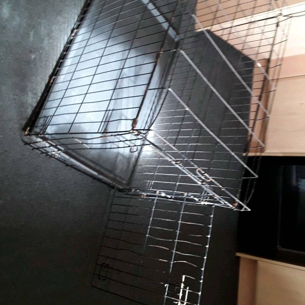 Dog crate for sale, medium/ large