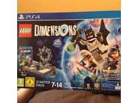 Lego Dimensions Starter Pack PS 4 Great condition VGC