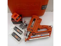 PASLODE IM350 ORANGE PROBE NAIL GUN. 1 YEAR WARRANTY