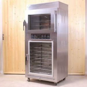 Nu-Vu QB-3/9 - Electric Oven Proofer Combo - 3 Pan Oven, 9 Pan Proofer (Used)