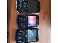 Blackberry Mobiles Phones 9360, 9720, 9930